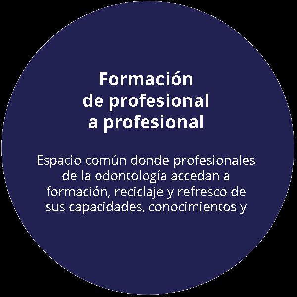 formación dental de profesional a profesional